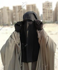 Niqab Casquette 90cm Devant