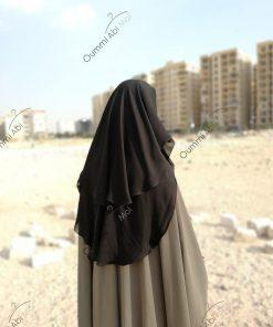 Niqab Casquette 90cm Noir