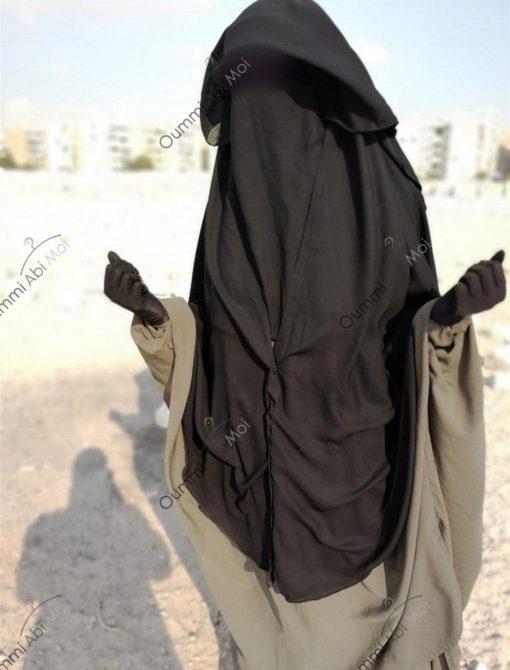 Niqab A Clip 1m30 Devant