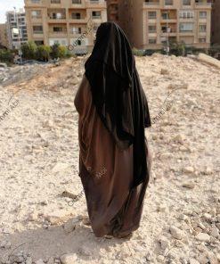 Niqab Casquette 1m50 Arriere