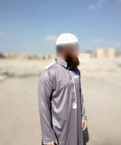 Qamis Adulte Gris Profil