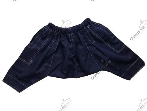 Sarouel Enfant Bleu Marine Dos