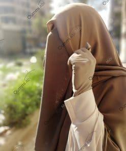 Half Niqab Taupe