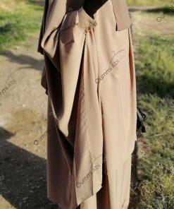 Jilbab 2 Pièces Bint.a Whool Peach Nude Dos