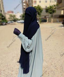 Maxi Hijab Bleu Nuit