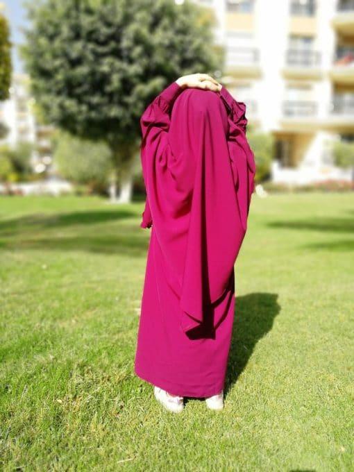 Abaya Mini Bint.a Prune
