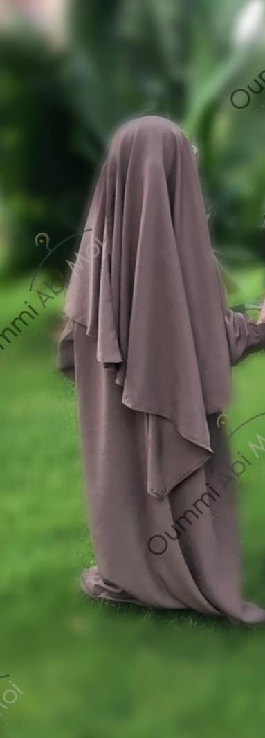 Abaya Mini Bint.a Whool Peach Taupe