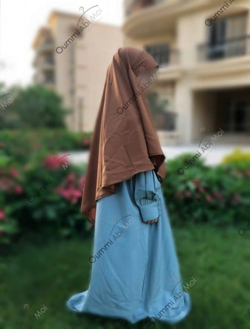 Khimar Mini Bint.a Whool Peach Camel