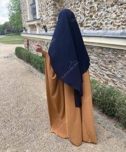 Abaya Saoudienne Bint.a Whool Peach Miel