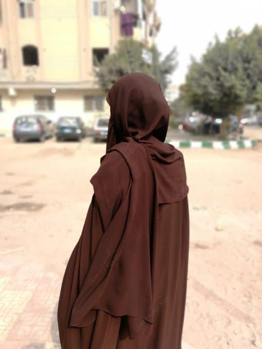 Hijab Marron