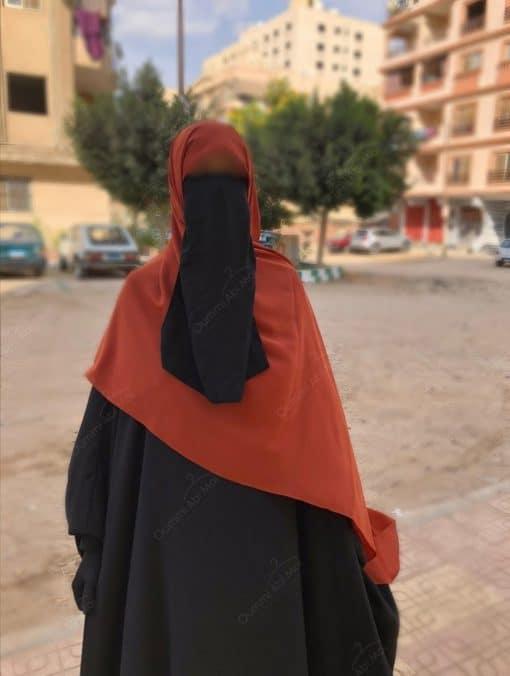 Hijab Rouille Profil