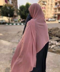 Hijab Vieux Rose