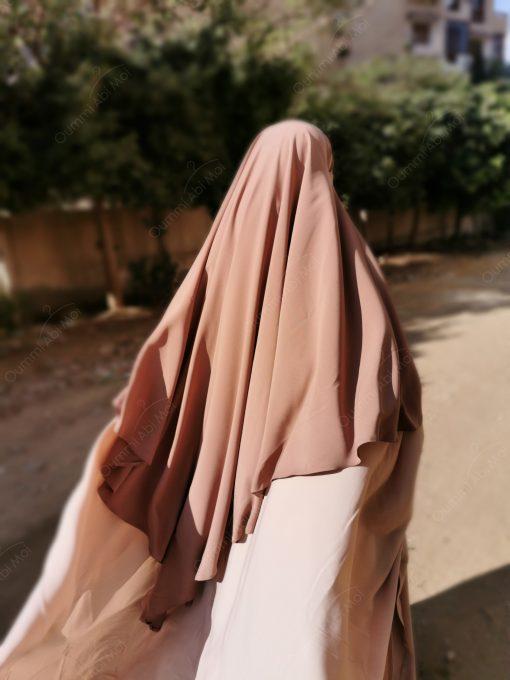Maxi Khimar Bint.a Taupe Nude